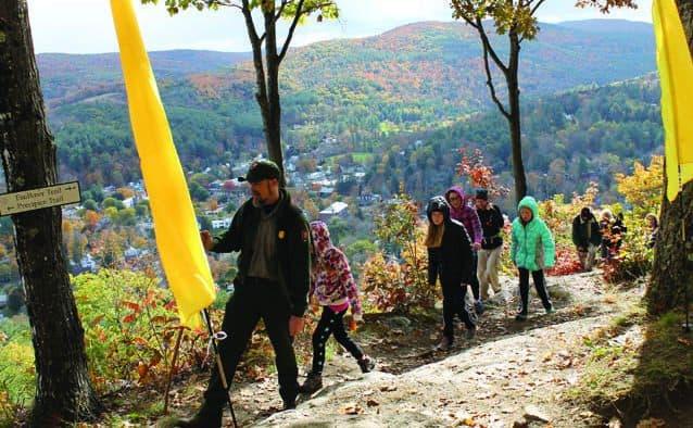5th annual Peak to Peak event celebrates Woodstock's trails