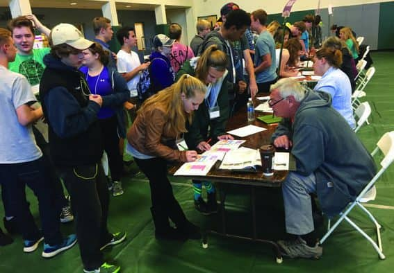 High-schoolers learn financial literacy at event
