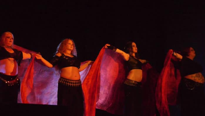 Eighth annual Dancing Darkly event features belly dancing and fusion