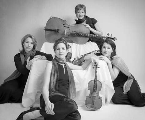 The Lark Quartet to perform classical music at Chandler Music Hall