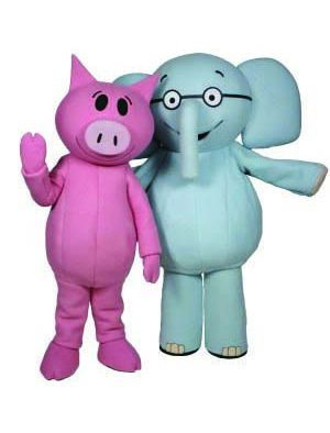 Elephant and Piggie visit Killington library