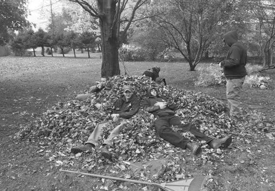 """Leaf"" it to us in community raking event"