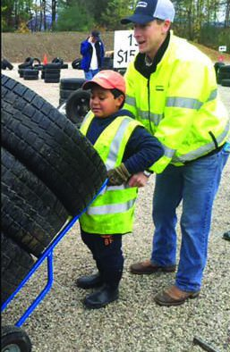 12th annual Wheels for Warmth raises $52,000 for fuel assistance, recycles 2,500 unusable tires