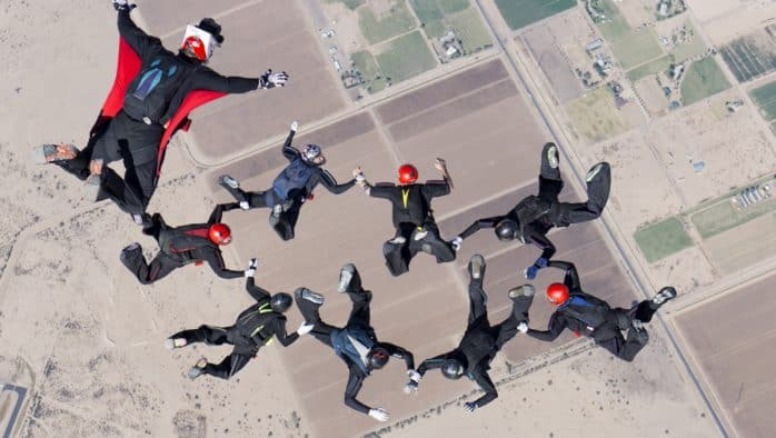 Killington fire chief wins Skydiver National Championship