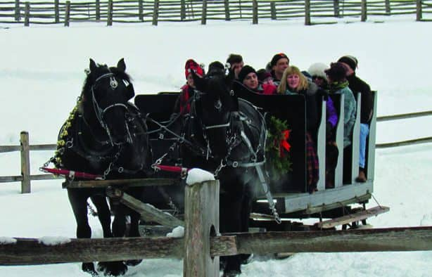 Christmas at the Farm featured at Billings in Woodstock