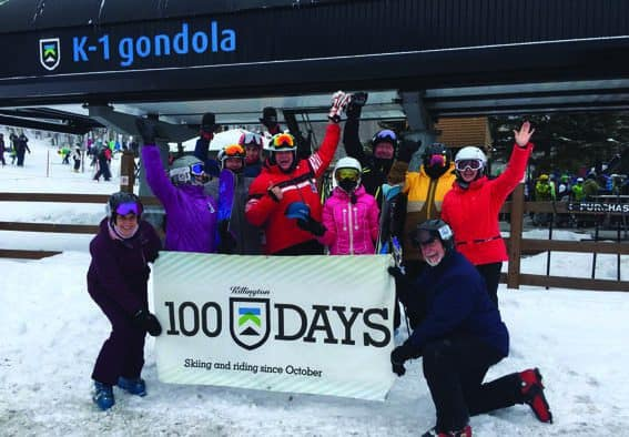 Killington 100 Day Club