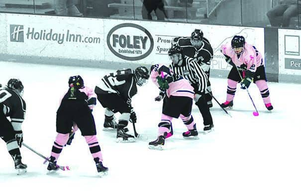 "Castleton University's Lady Spartans to ""pink the rink"""