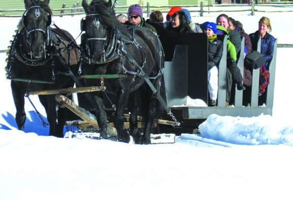 Sleigh Ride Weeks featured at Billings Farm & Museum through February