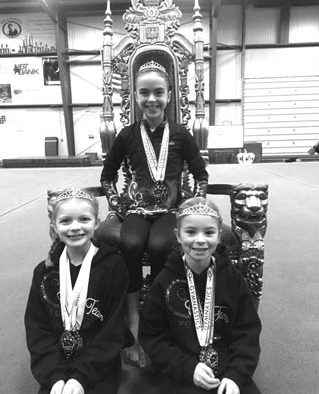 Rutland area gymnasts leaped and flipped their way to the podium