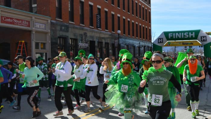 Shiver your shamrocks at fourth annual run to benefit Wonderfeet