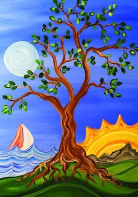 "Women's Shelter invites public to paint ""Tree of Life"""