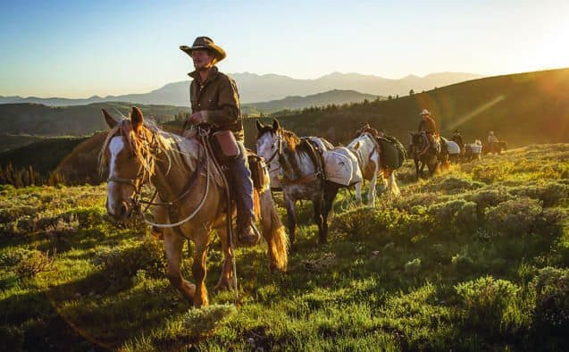 Woodstock film series features cowboys and horses
