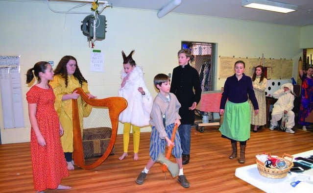 "Rutland youth take on big show, ""Jack and the Giant Beanstalk"""