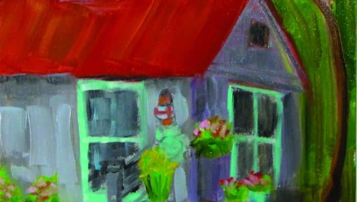 Christine Holzschuh gives color theory workshop at Chaffee Art Center