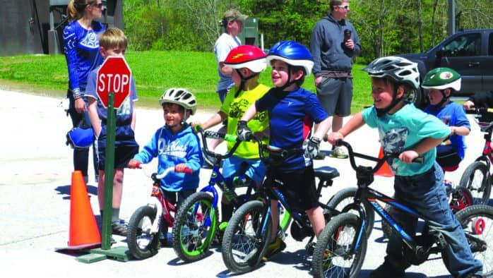 Area organizations get kids ready to ride