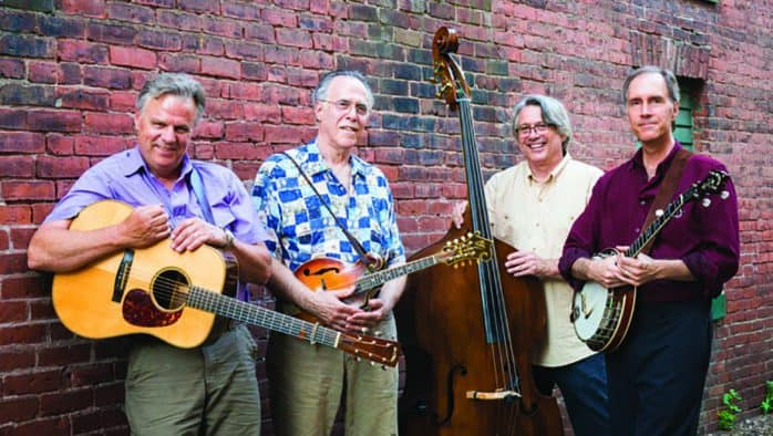 Northern Flyer plays bluegrass at Tinmouth's Old Firehouse