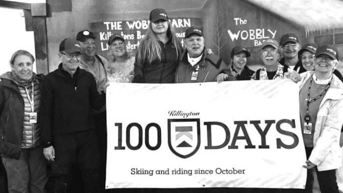 Killington devote claims 100 days on the hill