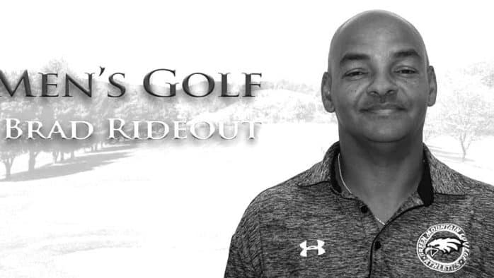 Rideout named new men's golf coach at Green Mountain