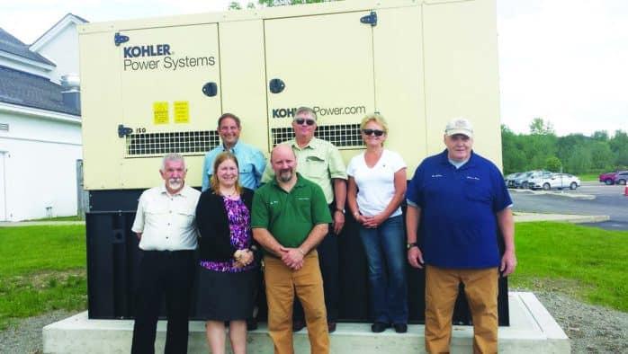 New diesel generator enables emergency functions at school