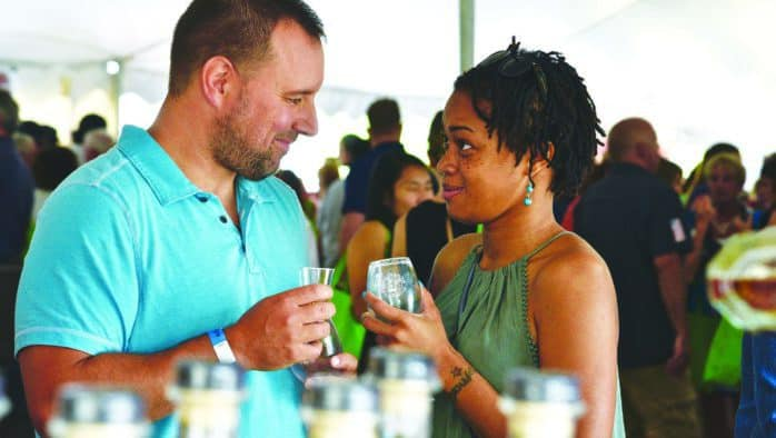 Hundreds taste wine varietals at annual festival