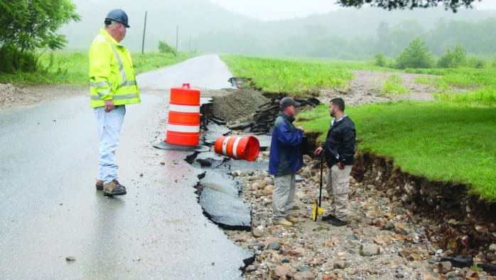 FEMA assesses flood damage in Brandon