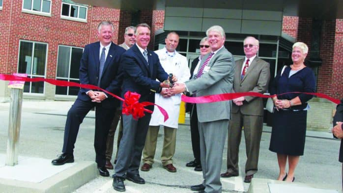 Hospital finishes renovation for psychiatric patients