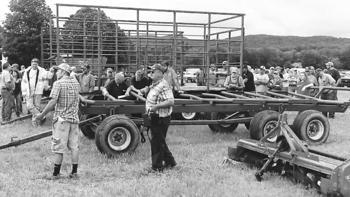 """""""No friends at an auction"""": cows, machinery sold to clear debt"""