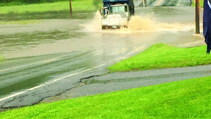 Flash floods close roads, compromise rail travel
