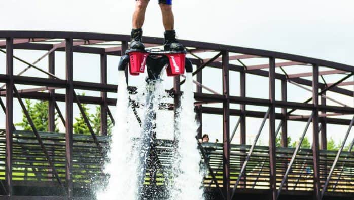 Killingon debuts flyboarding, paintball, laser tag