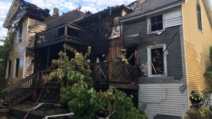 Police investigate Rutland fire