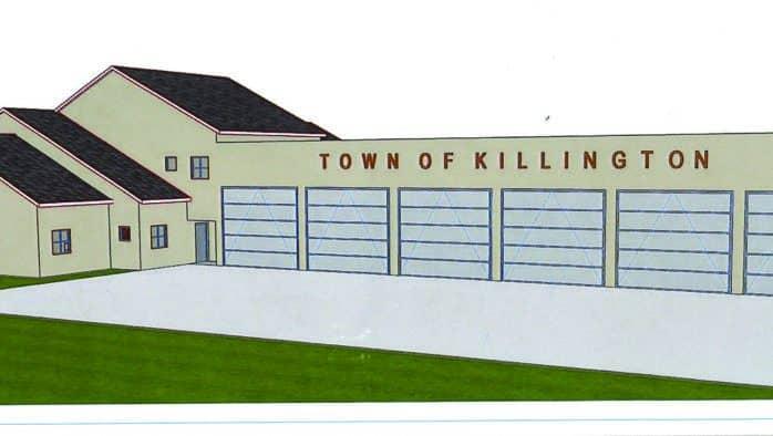 Touring Killington's new Public Safety Building
