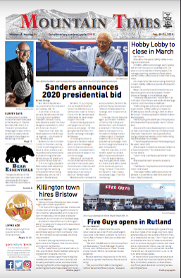 The Mountain Times – Volume 48, Number 10: Feb. 20, 2019