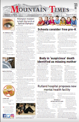 The Mountain Times – Volume 48, Number 12: March 13, 2019