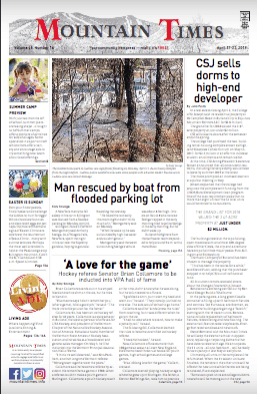 The Mountain Times – Volume 48, Number 16 April 17-24, 2019