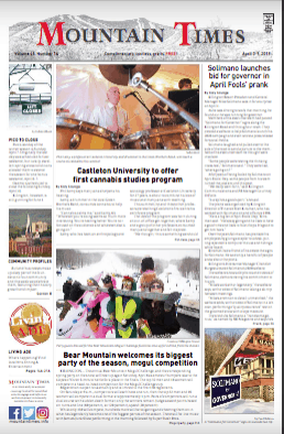 Mountain Times- Volume 48, Number 14: April 3-9, 2019