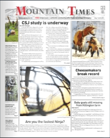 The Mountain Times – Volume 48, Number 33: Aug. 14-20, 2019