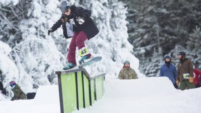 Killington hosts the Loaded Turkey rail jam
