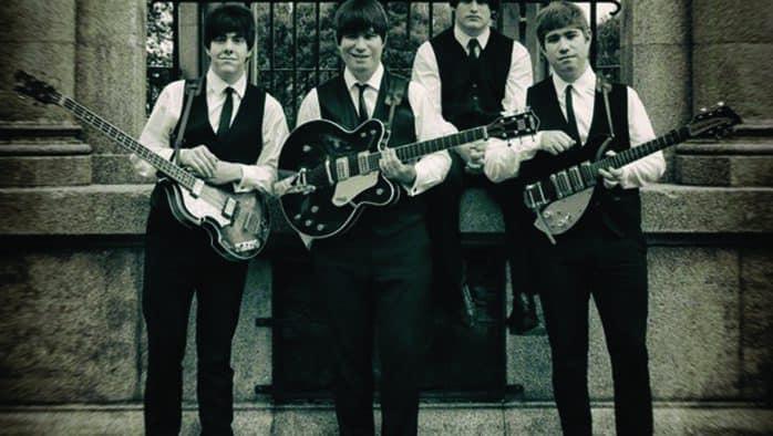 Studio Two Beatles Tribute live in Rutland