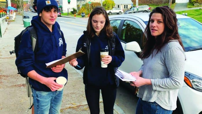 Woodstock students petition town to declare climate emergency