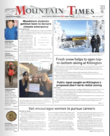 The Mountain Times – Volume 48, Number 46: Nov. 13-19, 2019