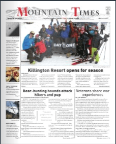 The Mountain Times – Volume 48, Number 45: Nov 6-12, 2019