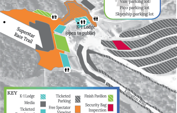 HomeLight Killington Cup Festival Village Map