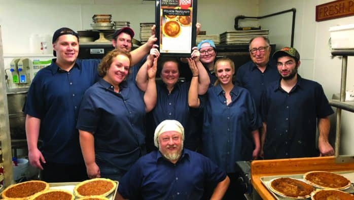 Food Network names Wayside Restaurant's  maple cream pie the iconic pie for Vermont