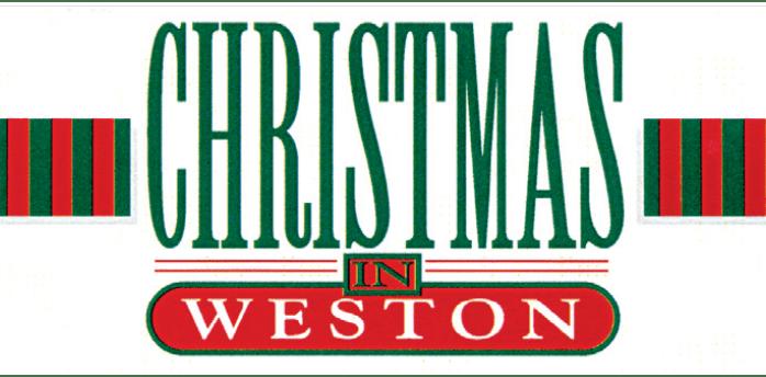 Celebrate Christmas in Weston, Saturday