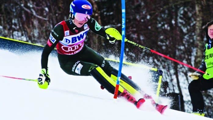 Shiffrin four-peats in Slalom, takes third in Giant Slalom