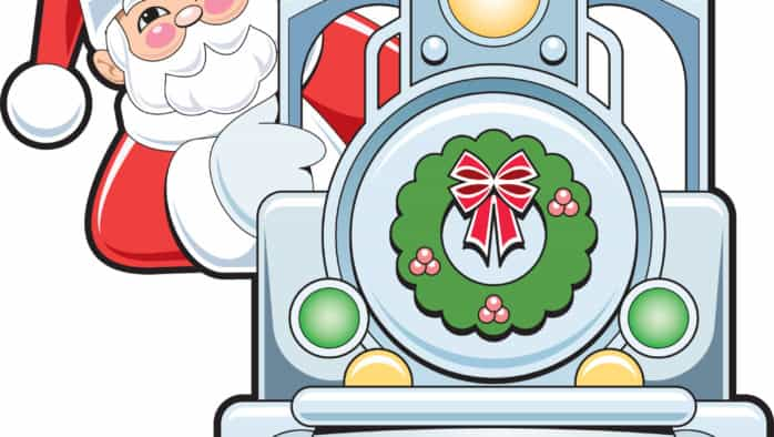 All aboard Rutland's Santa train