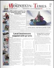 Mountain Times- Volume 41, Number 1: Jan 1-7, 2020