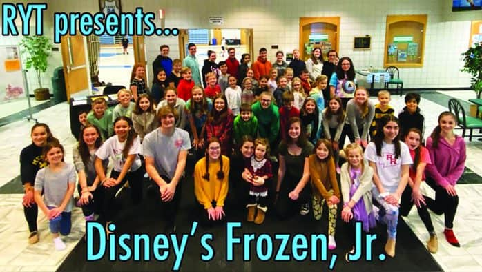 Skate with the cast of 'Frozen' in Rutland
