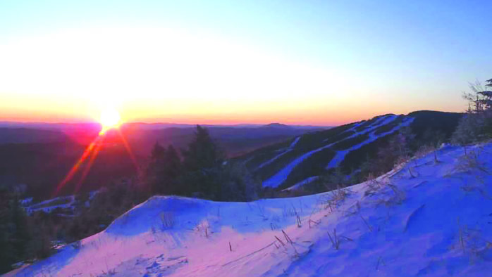 Living the Dream: First tracks at dawn