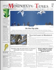 Mountain Times: Volume 49, Number 11: March 11-17, 2020